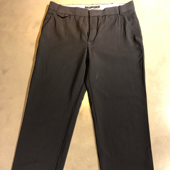 Zara dark blue trousers